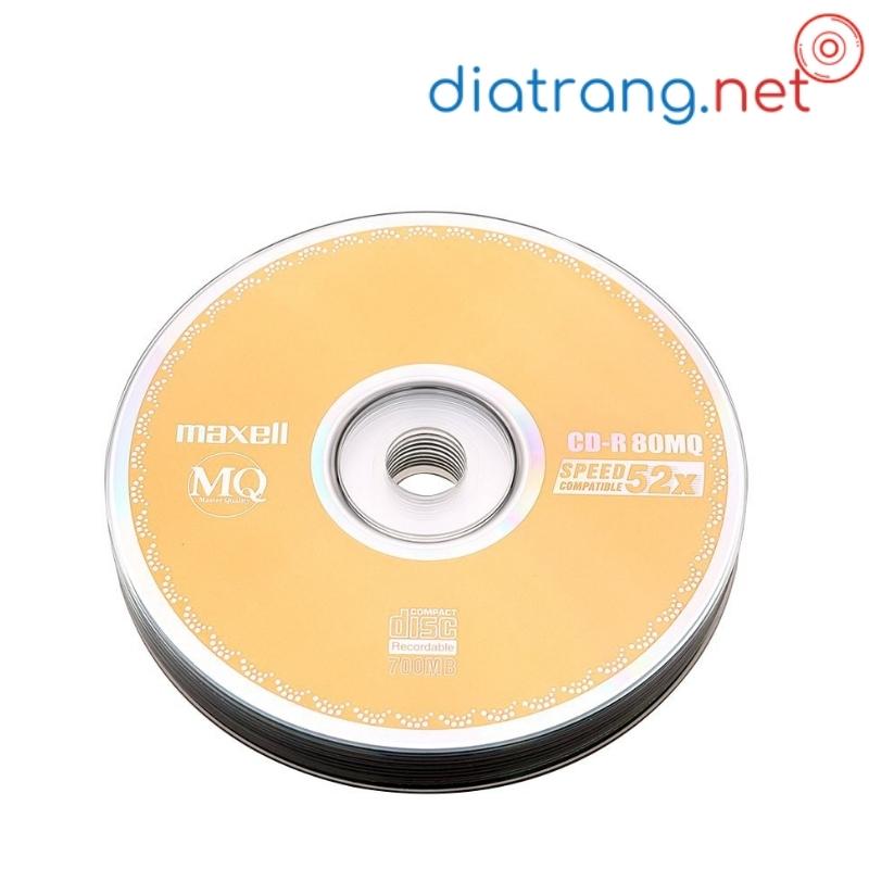 đĩa trắng cd-r maxell 700mb bán lẻ