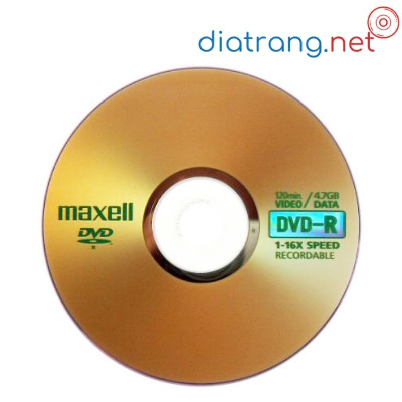 đĩa trắng dvd-r maxell 4.7gb 1 cái